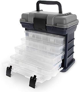 comprar comparacion Maletín con 4 compartimentos para accesorios de pesca