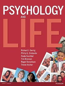 Psychology and Life e book by [Richard J. Gerrig, Philip G. Zimbardo, Frode Svartdal, Tim Brennen, Roger Donaldson, Trevor Archer]