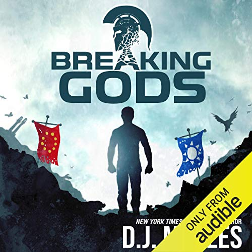 Page de couverture de Breaking Gods
