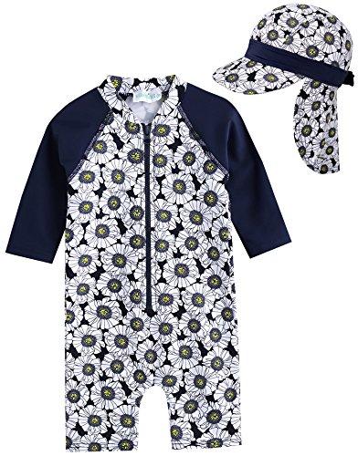 Vaenait baby 56–80 Maillot de Bain pour bébé Infant Maedchen Rashguard Swimwear Dimanche bébé - - L