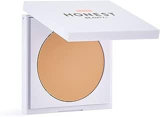 Honest Beauty Everything Cream Foundation, Linen | Demi-Matte, Lightweight, Medium-to-Full Coverage | Talc Free, Dermatologist Tested, Cruelty Free | 0.31 oz.