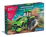 Clementoni- Tractor mecánico para niños a Partir de 8 años, Multicolor (61532)