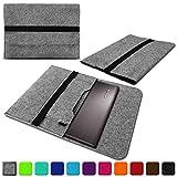 NAUC Lenovo Thinkpad Yoga 370 Tasche Hülle Filz Sleeve Case Schutzhülle Notebook Cover, Farben:Hell Grau