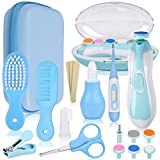 Baby Healthcare and Grooming Kit 19 In 1, Baby Healthcare Kit Newborn Boy Girl Gifts Baby Grooming Sets for Newborn, Grooming kit for baby Nursery Care Set Nail Clippers Trimmer Comb Brush Thermometer