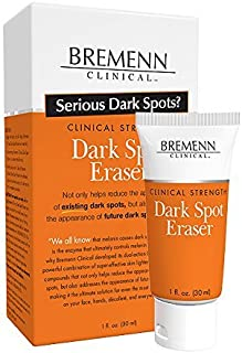 BREMENN CLINICAL Dark Spot Eraser- Compound for Visibly Reducing Dark Spots on the Face, Neck, Décolleté, and Hands, and Can Be Helpful in Addressing Appearance of Future Dark Spots, (1.0 oz)