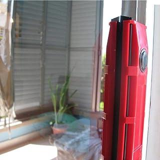 v_esafe Limpiador de vidrio rojo (2~3 cm) de doble cara fuerte magnético