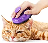purr paw Cat Brush with Silicone...