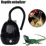 Humidificateur pour Reptiles Générateur De Brouillard De Vaporisateur D'amphibiens De 2L avec Tuyau Flexible Extensible De 40 À 150 Cm pour Geckos Tortues Etc