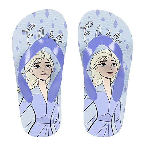 CERDÁ LIFE'S LITTLE MOMENTS 2300004962_T031-C57 Flip-Flops für Mädchen, Motiv: Die Eiskönigin, offizielles Lizenzprodukt, bunt, 31 EU