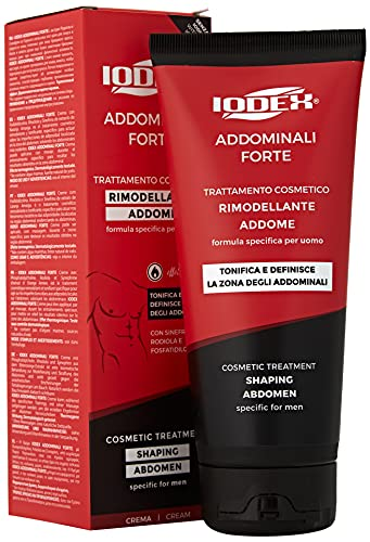 Iodase Iodex Uomo Addominali Forte Crema 200 ML Nuova Formula