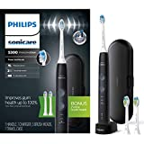 Philips Sonicare ProtectiveClean 5300 Rechargeable Electric Toothbrush, Black HX6423/34