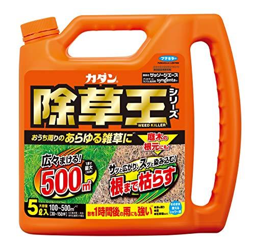 フマキラー フマキラー カダン 除草剤 液体 強力 ストレート ザッソージエース 5L