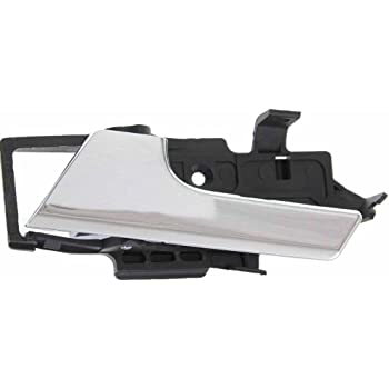 Amazon Com Apa Replacement For Aveo 2007 2011 G3 2009 Inner Front Or Rear Chrome Left Driver Door Handle 96462709 Automotive