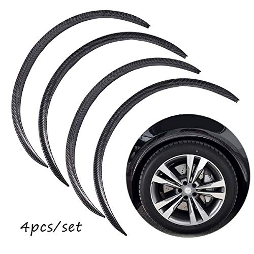 30ft Feet New Car Wheel Fender Flare Edge Trim Wiper Style Replacement With 3M Tape