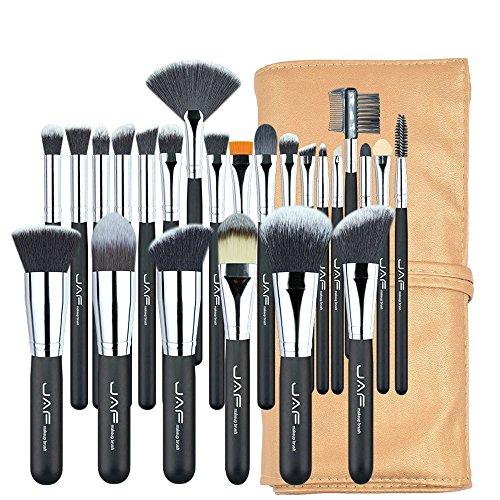 Pinceaux de maquillage 24 pcs Professionnel Pinceaux de Maquillage Ensemble de Haute Qualité Maquillage Brosses Plein Fonction Studio Synthétique Maquillage Outil Kit J2404YC-B Brosses et outils de ma