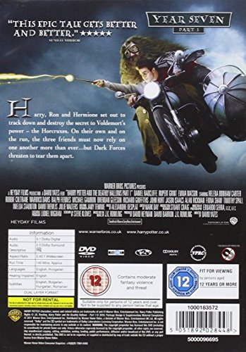 HP7:DEATHLY HALLOWS, P1 (DVD/S) [2011]