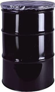 Interplas DLC-30 30 Gallon 4 Mil Drum Cover Dust Caps, LDPE (Case of 100)