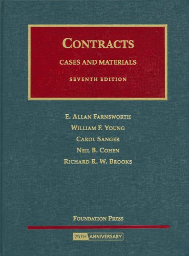 Contracts: Cases and Materials (University Casebook)