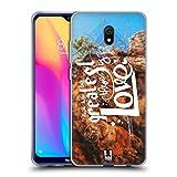 Head Case Designs Liebe Christliche Typografie Serie 3 Soft Gel Huelle kompatibel mit Xiaomi Redmi 8A