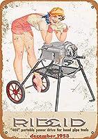 ハンドパイプツール メタルポスター壁画ショップ看板ショップ看板表示板金属板ブリキ看板情報防水装飾レストラン日本食料品店カフェ旅行用品誕生日新年クリスマスパーティーギフト