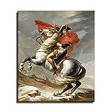 FINDEMO MJ_ART Poster Napoleon Bonaparte Wanddekoration