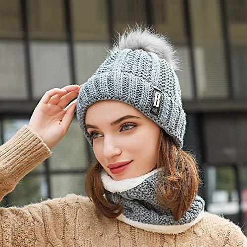 Winter Hut kalte Mütze Outdoor gestrickte Wolle Hut Wind Hut Abdeckung Kopf warmen Hals Hut Durchschnittlicher Code grau