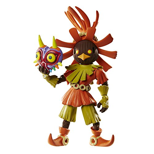 World of Nintendo The Legend of Zelda Skull Kid Action Figure with Mask, 4 Inches