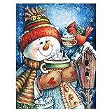MWOOT 5D DIY Monigote de Nieve Diamond Painting Kits,Christmas 5D Diamante Pintura,Rhinestone...
