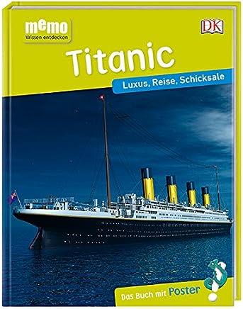 eo Wissen entdecken Titanic Luxus Reise Schicksale Das Buch it Poster! by