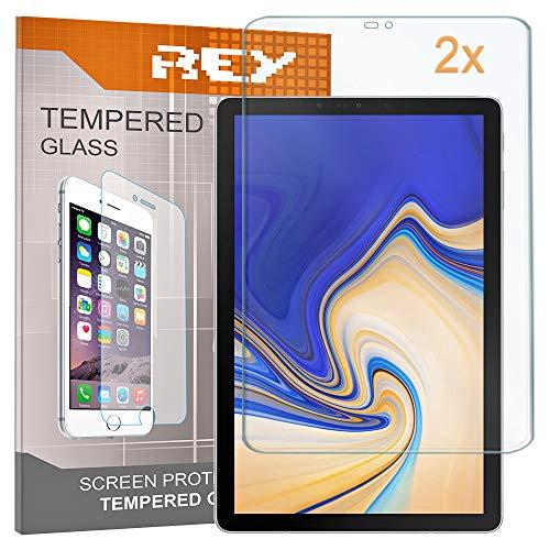 """2X Protector de Pantalla para Samsung Galaxy Tab S4 10,5"""", Cristal Vidrio Templado Premium, Táblet"""