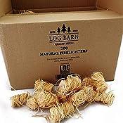 Houtwol, natuurlijke aanmaakblokjes, milieuvriendelijk, 200 stuks per verpakking, ideaal voor het aansteken van vuur in...