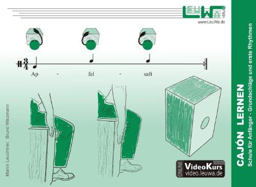 Cajón lernen: Schule für Anfänger - Grundschläge und erste Rhythmen: Schule fr Anfnger - Grundschlge und erste Rhythmen (Hefte für Percussionsinstrumente)