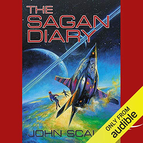 The Sagan Diary audiobook cover art
