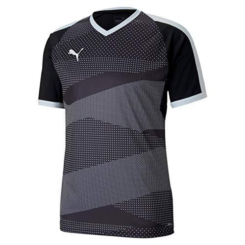 PUMA Teamfinal Indoor Jersey Camiseta, Hombre, Black White, M