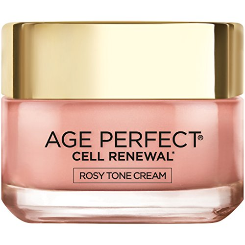 Face Moisturizer by L'Oreal Paris Skin Care I Age Perfect Rosy Tone Moisturizer for Visibly Younger Looking Skin I Anti-Aging Day Cream I 1.7 oz.