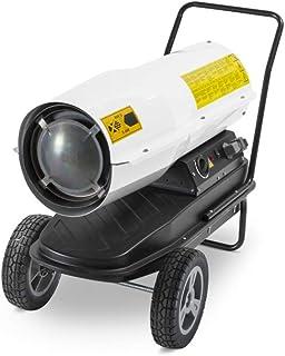TROTEC Calefactor de gasoil directo IDE 30 D, Potencia Térmica Nominal 30 kW (25.800 kcal), Termostato, Flujo de aire: 720 m³/h, Ventilador axial, Portátil, Exteriores, Obras, Talleres