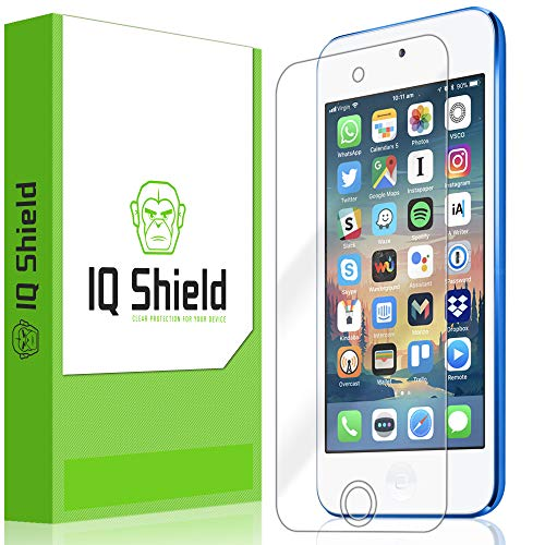 IQShield Screen Protector Compatible with Apple iPod Touch (7th Gen, 2019) LiquidSkin Anti-Bubble Clear Film