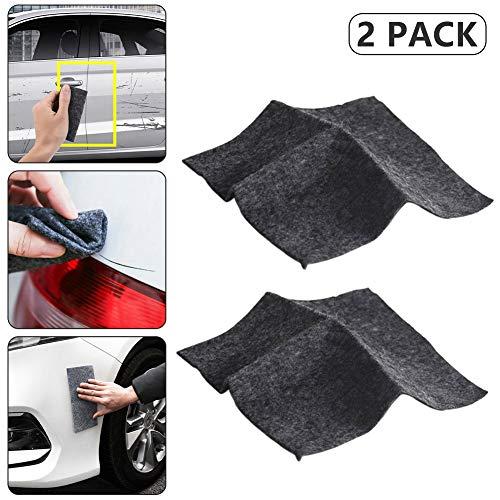 Upgraded Version Nano Magic Cloth, Magic Car Scratch Remover Cloth For Car Scratches, Multipurpose Scratch Repair Cloth, for Repairing Paint Scratches 4Pack