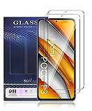 UNO' Protector pantalla cristal templado 2 Unidades compatible con Xiaomi Poco F3, Xiaomi Mi 11i, Vidrio Templado Ultra Resistent Sin Burbujas, 9H, Antiarañazos.