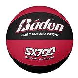 Baden Unisex de Baloncesto, Color Rojo/Negro, tamaño 7