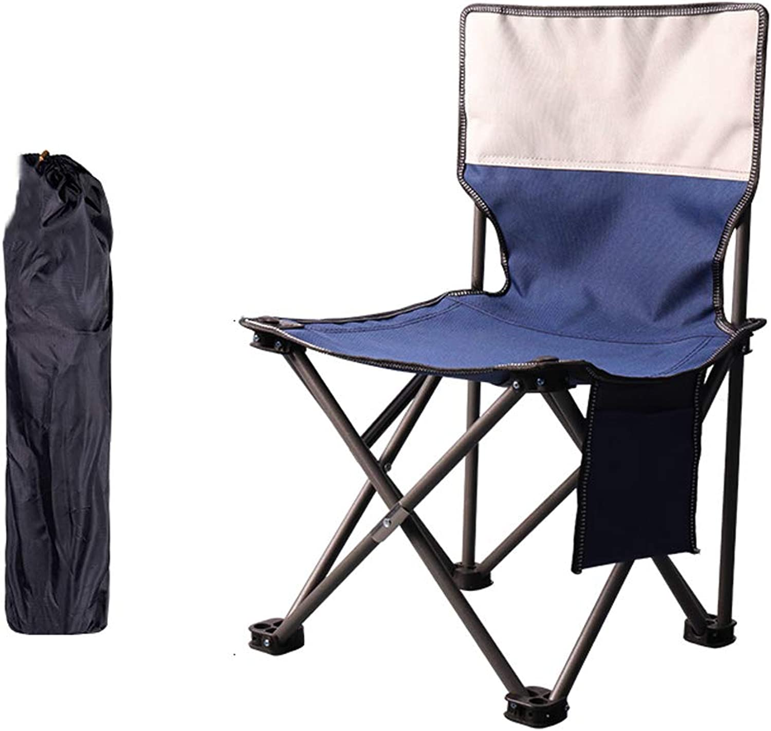 Folding CAMPING CHAIR ,Hiking Garden Indoor Outdoor Fishing SEAT Garden Festival -with Side Pouch
