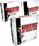 Resident Evil 2 Board Game Bundle: Base Game, B-Files and 4th Survivor Expansions