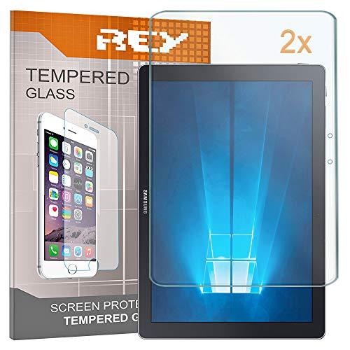Pack 2X Panzerglas Schutzfolie für Samsung Galaxy TABPRO S - S WiFi - S 4G - Book 12 WiFi, Bildschirmschutzfolie 9H+ Festigkeit, Anti-Kratzen, Anti-Öl, Anti-Bläschen