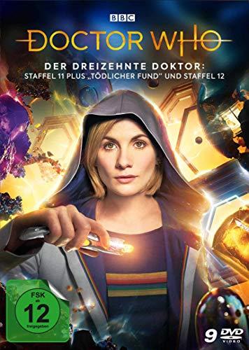 """Doctor Who - Der dreizehnte Doktor: Staffel 11 plus """"Tödlicher Fund"""" und Staffel 12 [9 DVDs]"""