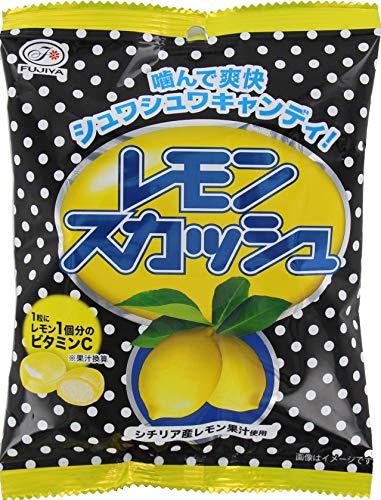 不二家 レモンスカッシュキャンディ袋 80g×6袋