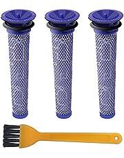 Blue Power Filtri Ricambio per Dyson DC61 DC62 DC58 DC59 V6 V7 V8, Lavabile Di Pre Filtro Accessori per Dyson Portatile Aspirapolvere A Mano [3 Pezzi]