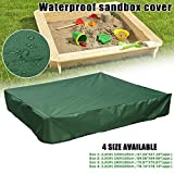 Adealink Dustproof Protection Sandbox Cover with Drawstring Waterproof Sandpit Pool Cover