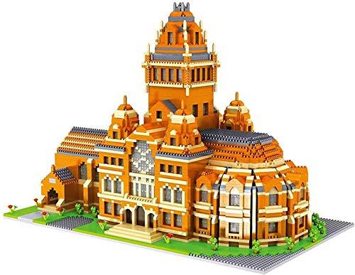 Mini Block Block Harvard University 3D DIY Mini Diamond Blocks Bricks Building Juguete para niños Regalo (5370 + PCS)