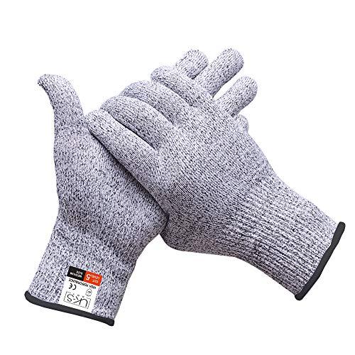 UK-S Art Schnittschutzhandschuh mit extra starkem Level 5 Sicherheitshandschuh. Für Küche, Haus und Garten.