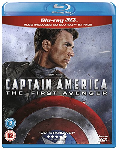 Captain America: First Avenger [Blu-ray 3D + 2D] [Region Free]